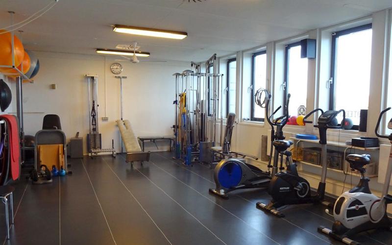 Fyssernes træningsfaciliteter til vores forskellige tilbud inden for træningshold