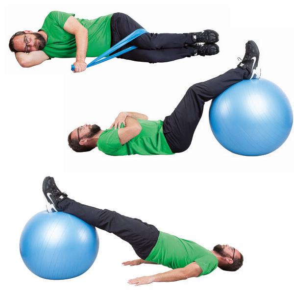 Kombineret med træning omfattende stabilitet og styrke